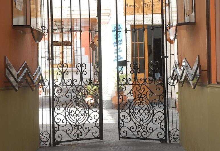 Hostal Villa Sillar, Arequipa, Entrée de l'hôtel