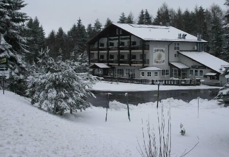 Waldhotel Hubertus, Eisfeld, Facciata hotel