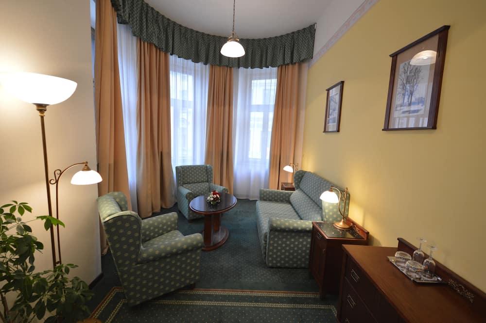Comfort külaliskorter, 1 ülilai voodi - Elutuba