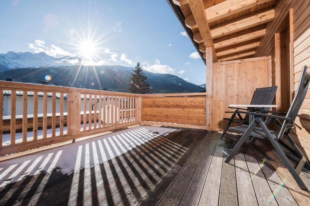Улучшенный двухместный номер с 1 двуспальной кроватью (Dolomites View) - Балкон