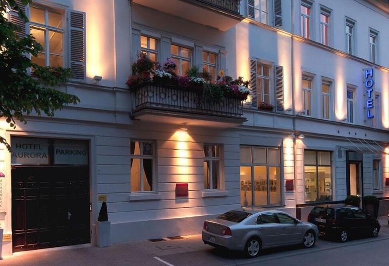 Aurora Hotel, Wiesbaden, Hotellentré