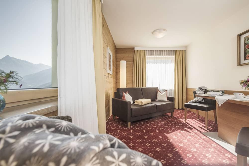 Apartament, 2 sypialnie, balkon, widok na góry - Powierzchnia mieszkalna