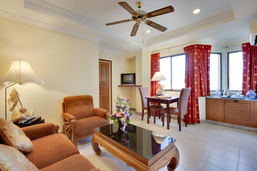 Lejlighed - 2 soveværelser (Penthouse) - Stue