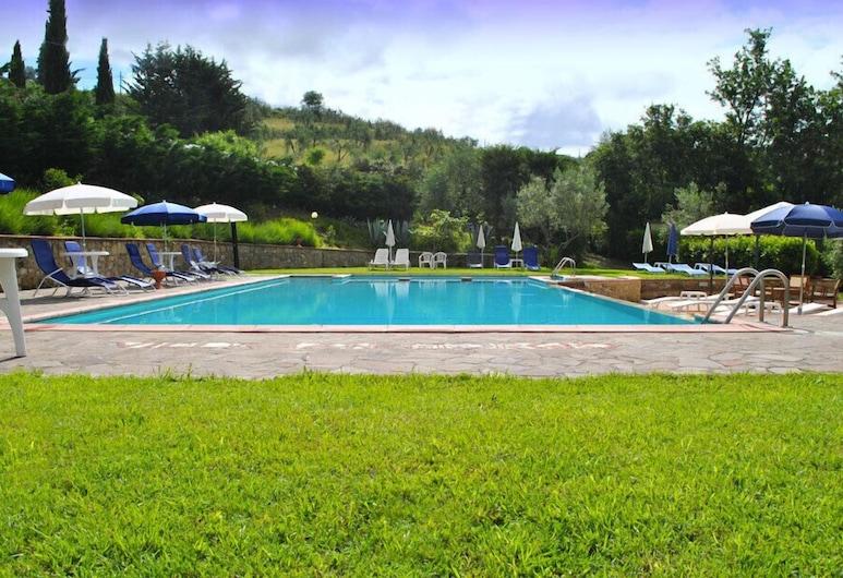 Hotel Villa San Giorgio, Poggibonsi, Piscina Exterior