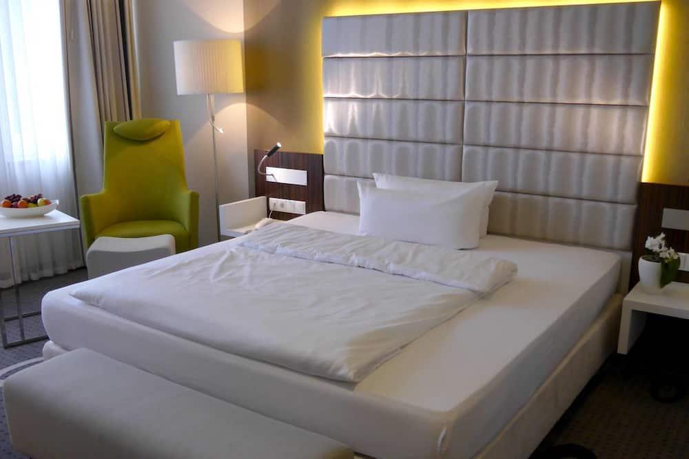 Dvoulůžkový pokoj (Business) - Obývací prostor