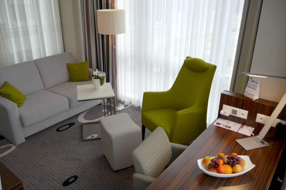 Jednolůžkový pokoj typu Comfort (Business) - Obývací prostor