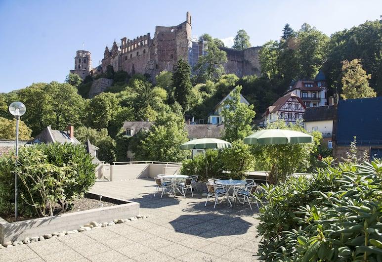 Hotel Am Schloss, Heidelberg, Hotelgelände