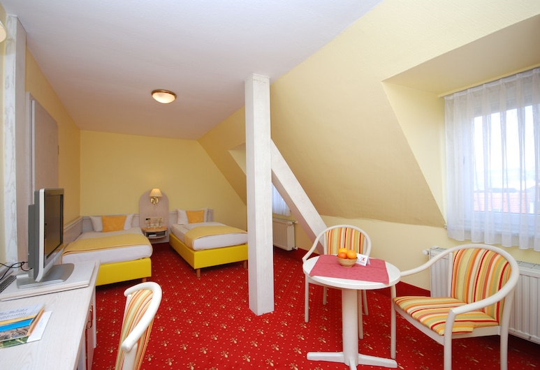 Hotel Residence, Wuerzburg, Driepersoonskamer, Kamer