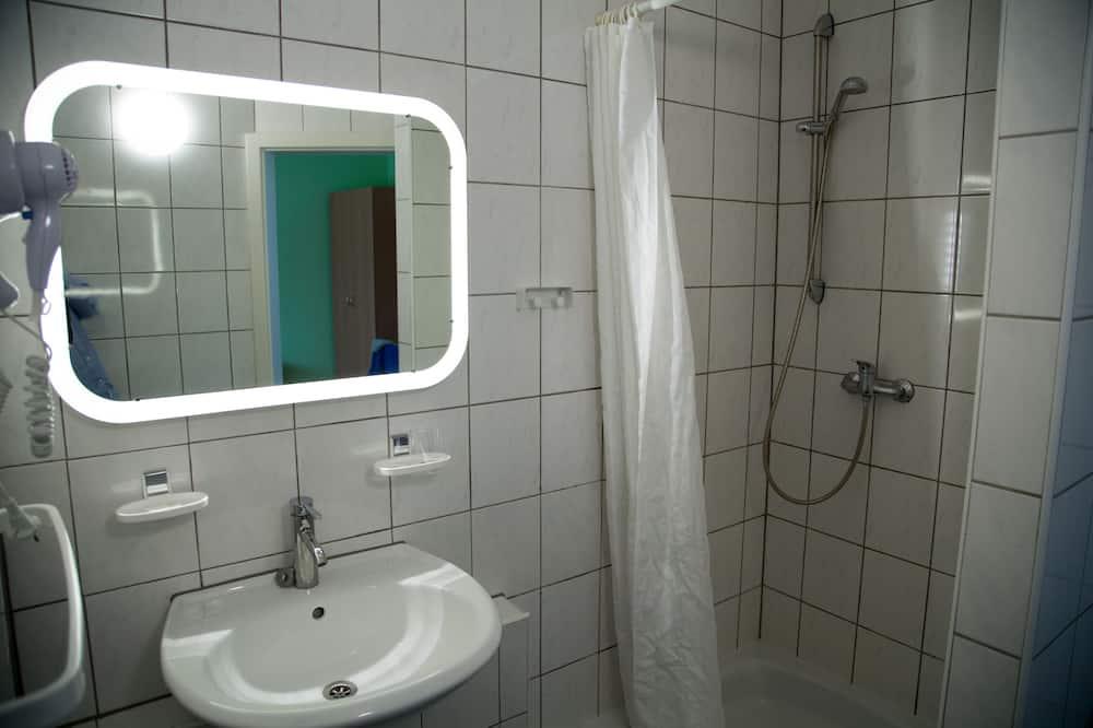 Einzelzimmer, Annex - Badezimmer