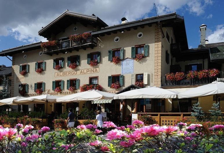 Alpina, Livigno, Fachada del hotel