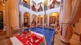 马拉喀什配有游泳池的酒店