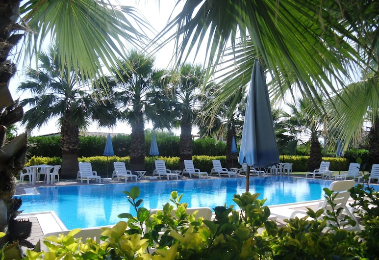 Residence Hotel Villa Laura, Ascea, Basen odkryty