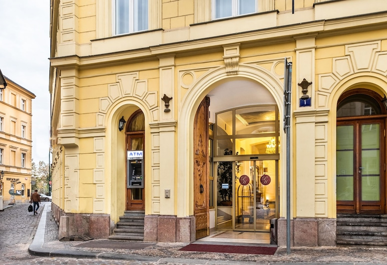 Charles Bridge Palace, Prague, Hotel Front