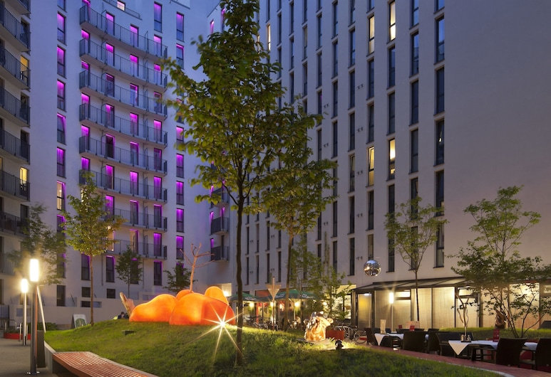 Hotel Indigo Berlin – Alexanderplatz, Berlín, Terasa