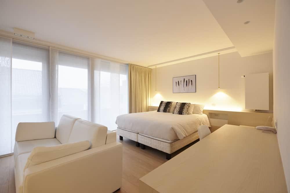 Suite Superior, 1 Tempat Tidur Queen dengan tempat tidur Sofa, akses difabel - Kamar Tamu