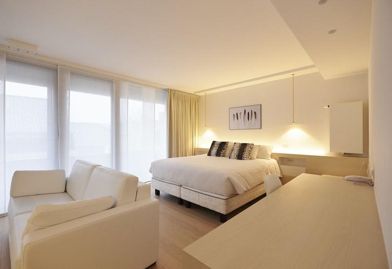 Parkhotel Roeselare, Roeselare, Suite superior, 1 cama Queen size con sofá cama, con acceso para silla de ruedas, Habitación