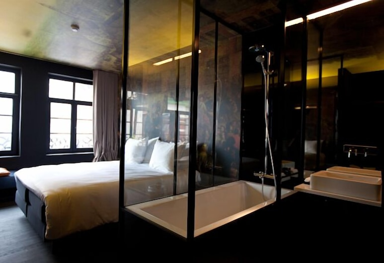 HotelO Kathedral Antwerp, Anvers, Chambre Double Deluxe, Chambre