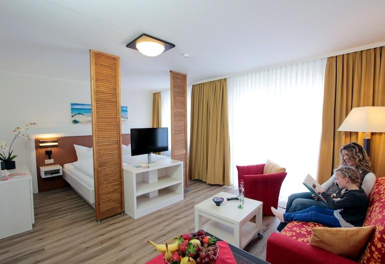 Park Hotel Sellin, Sellin, Studio für 3 Personen (inkl. 50,00 EUR Endreinigungsgebühr), Zimmer