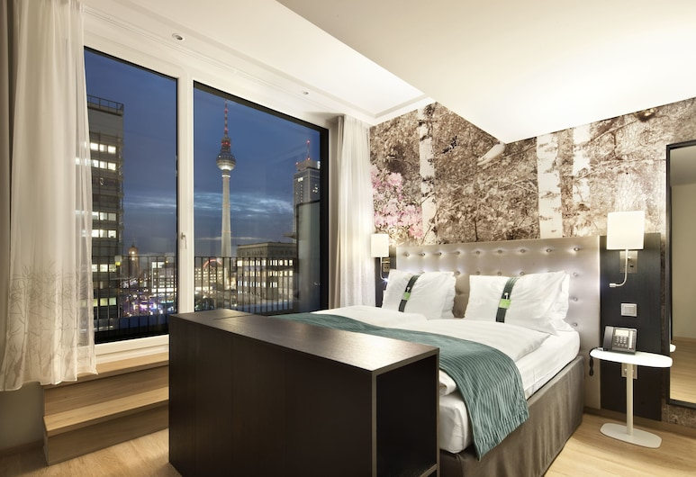 Holiday Inn Berlin - Centre Alexanderplatz, Berlin, Suite, 1 Doppelbett, Nichtraucher, Ausblick, Ausblick vom Zimmer