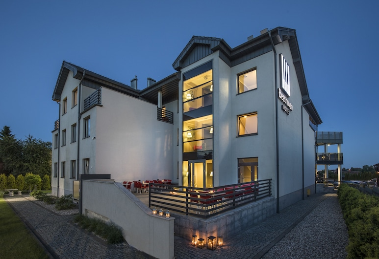 Hotel Beethoven, Gdansk, Terrasse/veranda