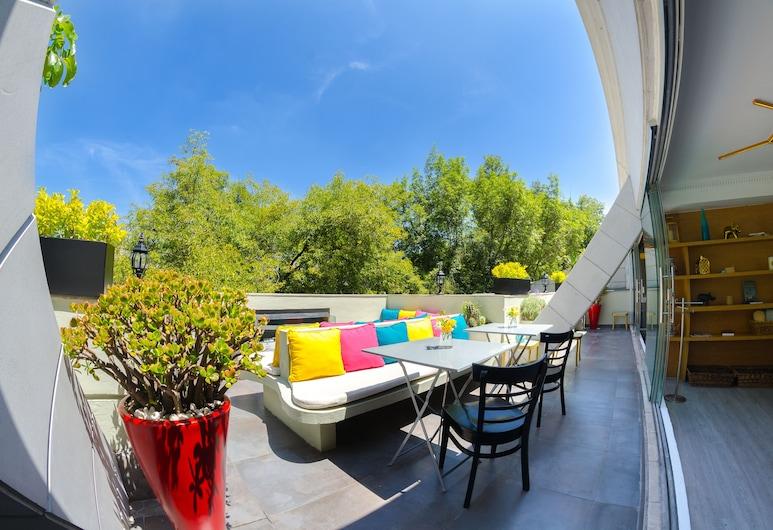 Residence L´ Heritage Tennyson by BlueBay, Mexico City, Taras/patio