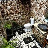 Basic Room, 1 Queen Bed, Non Smoking, Garden View - Bathroom