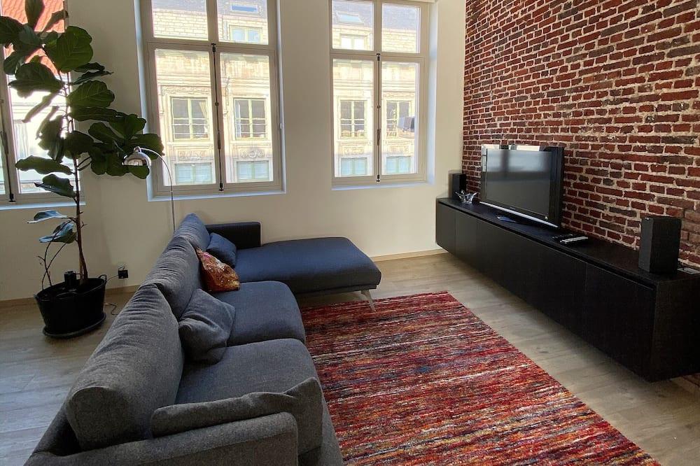 Ático panorámico - Zona de estar