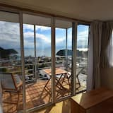 Deluxe Corner Room, Sea View, with Terrace, 1Person - Living Area