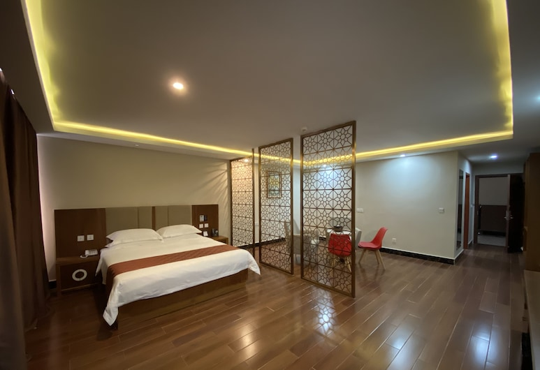Paramount 168 Hotel, Sihanoukville, Luxury Δίκλινο Δωμάτιο (Double), Δωμάτιο επισκεπτών