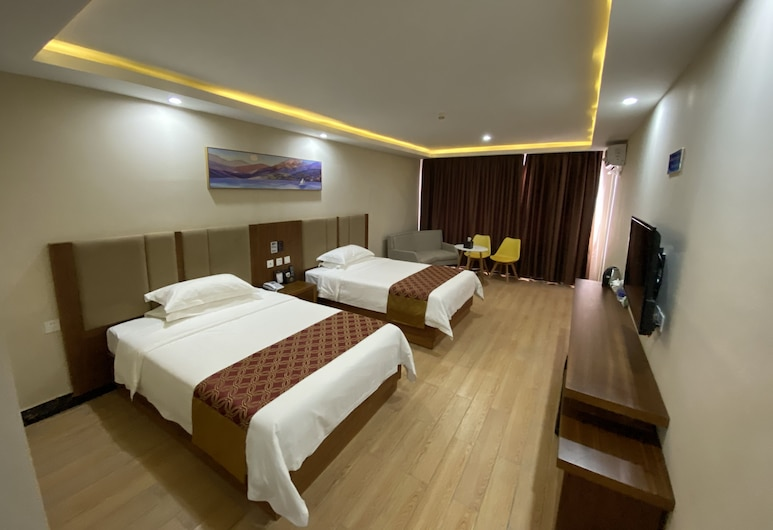 Paramount 168 Hotel, Sihanoukville, Comfort Twin Room, Guest Room