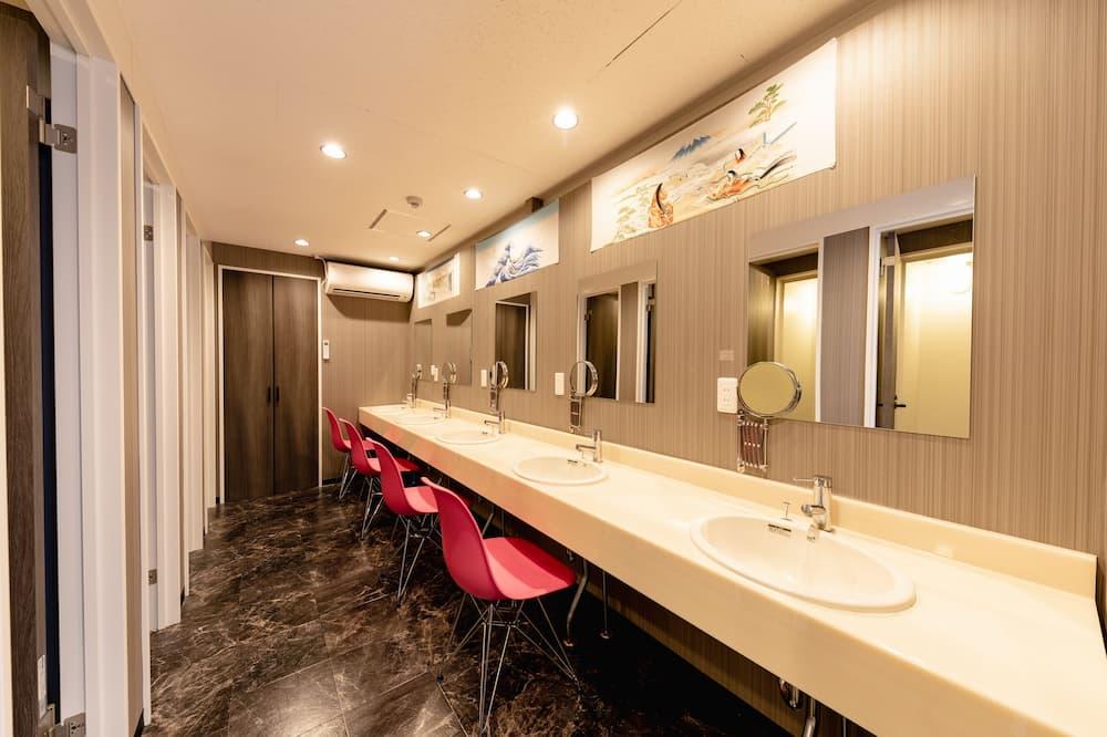 Общее спальное помещение, общий смешанный номер (#501-3) - Раковина в ванной комнате