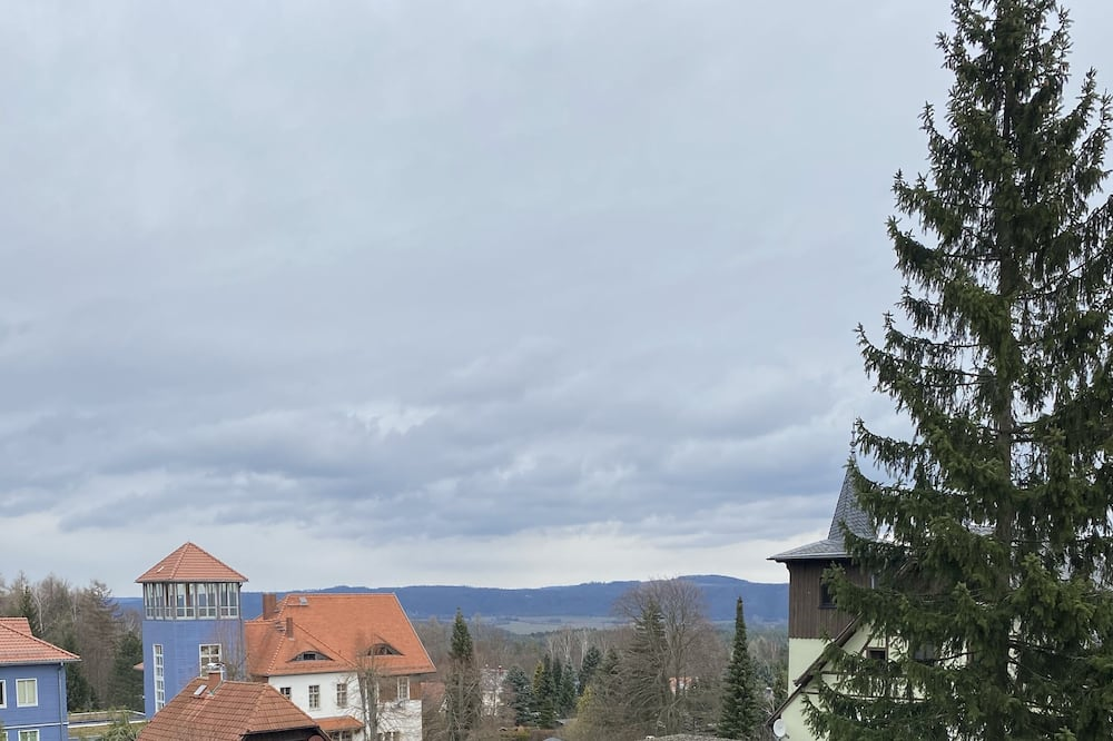 Dubbelrum - Utsikt mot trädgården