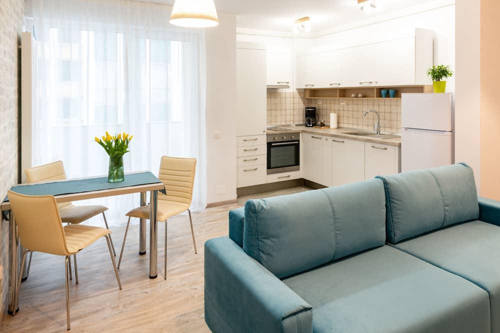 Apartment, 1 Bedroom (Aqua Marin) - Living Room