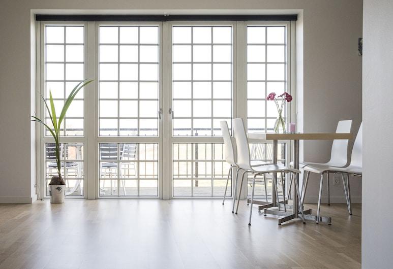 Kammerslusen, Ribe, Deluxe-suite - balkon, Altan