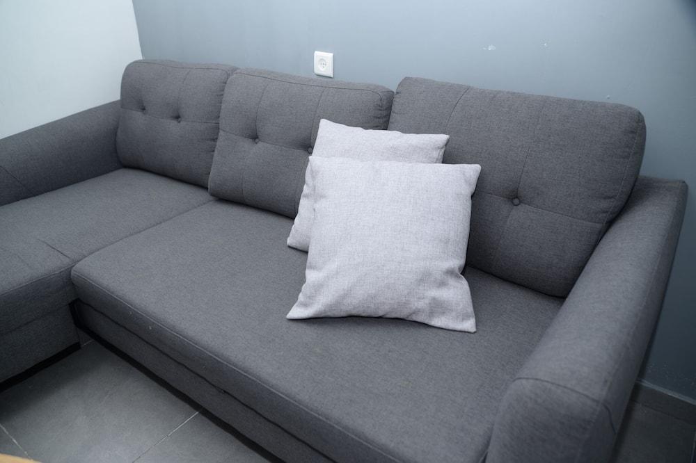 Familienapartment, 1 Schlafzimmer, Erdgeschoss - Wohnbereich
