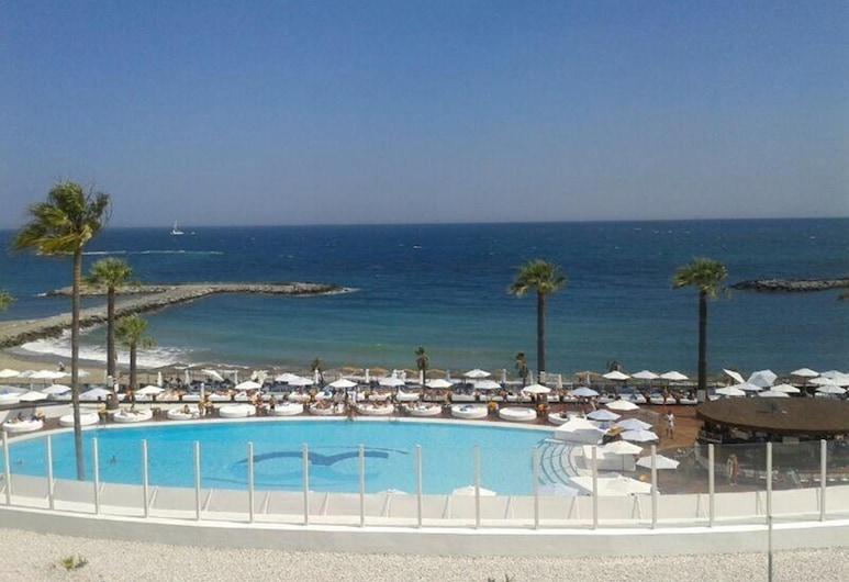 Beachfront Penthouse, Sea/mountain Views, 3 Balconies, Puerto Banus, Marbella, マルベラ, ビーチ