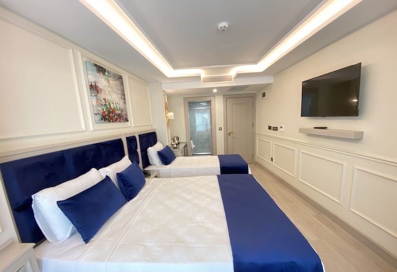 Omma Hotel, Istanbul, Tripla Deluxe, Camera