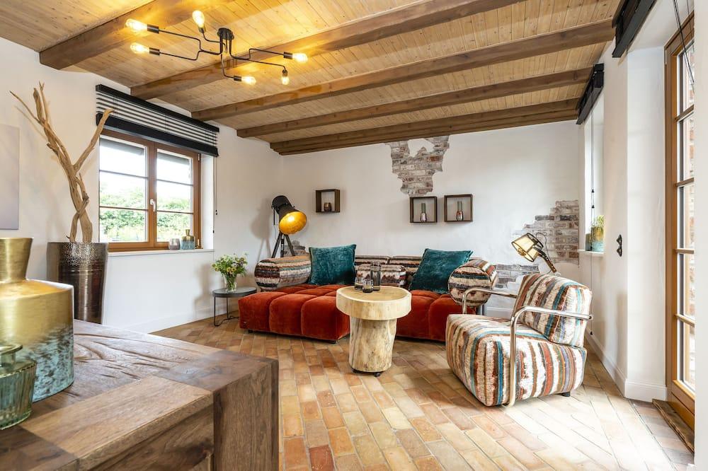 Apartamento (Bauern-Haus XL) - Sala de Estar