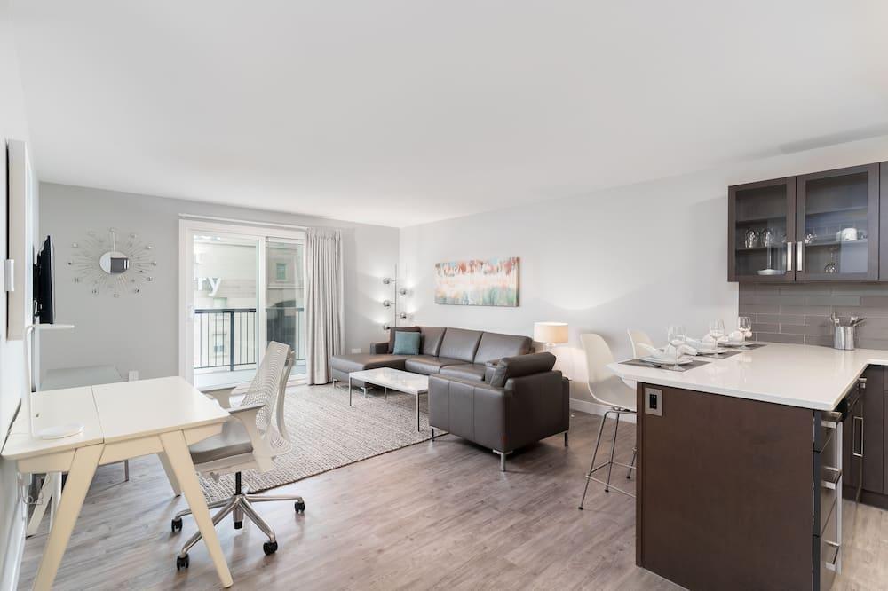 Luxury-Suite, 1King-Bett (LUXL) - Wohnbereich
