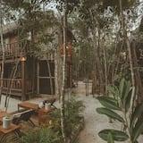 Дизайнерский домик (Sat) - Зона гостиной