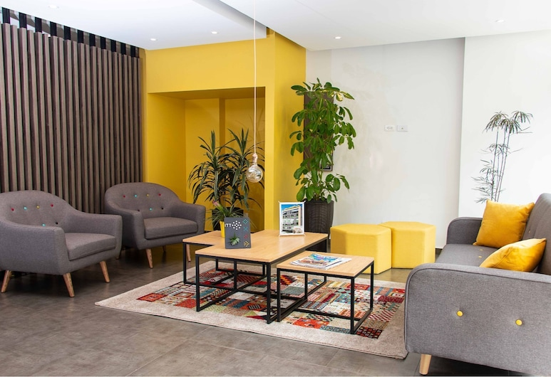 Fiber Optic Internet in Chapinero Alto Studio Apartment, Bogotá, Bilik Rehat