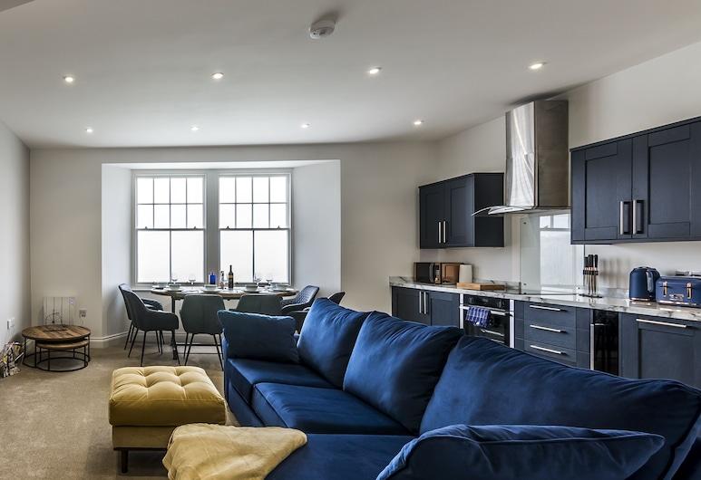 Lady Tenby - 2 Bedroom Luxury Apartment, Tenby, Luxury Διαμέρισμα, Περιοχή καθιστικού