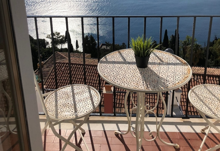 Villa Jole Taormina , Taormina, Quadrupla Standard, Balcone