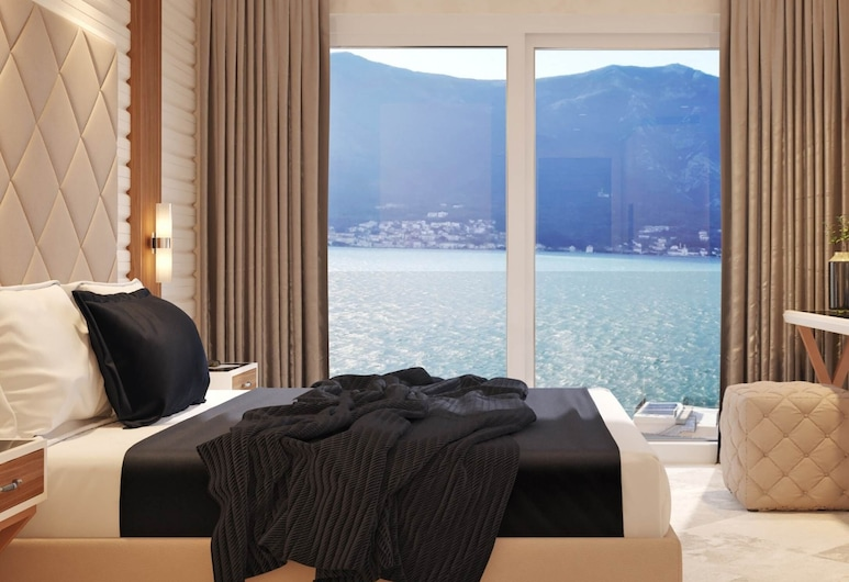 Hotel R Palazzo, Kotor, Chambre Double Supérieure, 1 grand lit, vue mer, vue mer, Chambre