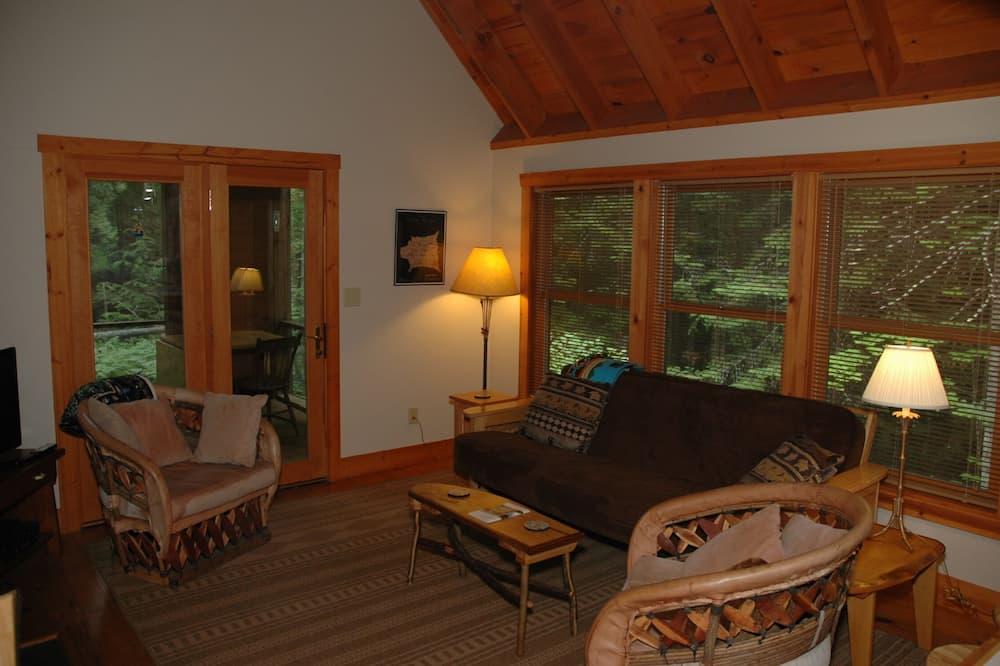 Comfort-Ferienhütte - Wohnbereich
