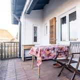 وحدة سكنية متصلة تقليدية (incl. cleaning fee) - شُرفة