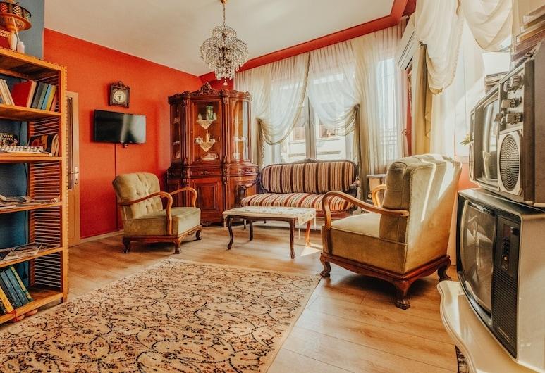 Nostaljik Suites, Antakya, ห้องแฟมิลี่สวีท (Nostaljik), พื้นที่นั่งเล่น