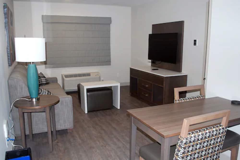 奢華套房, 1 間臥室, 無障礙 - 客廳