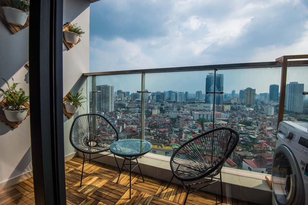 Appartement, 2 chambres, vue ville (Byn Housing #1) - Balcon
