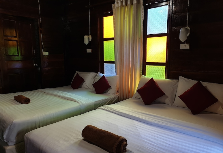 OYO 864 Seahorse Resort, Rayong, Suite Familiale, Chambre